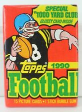 1990 Topps Football 15 Picture Cards Glossy Card Inside