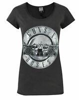Amplified Guns N Roses Foil Drum Women's T-Shirt