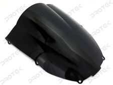 Smoke Black Windscreen Windshield for 2000-2002 Kawasaki Ninja ZX6R 05-08 ZZR600