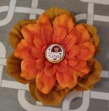 "New listing 4.5"" Little Turkey Dog Collar Flower"