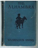 The Alhambra by Washington Irving 1926 1st Ed. Rare Book! $