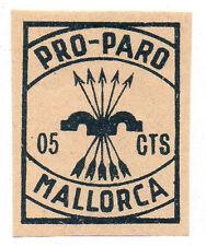 Sello Local Guerra Civil Mallorca -Cat. Galvez 434.  ORD:445