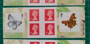 2013 Butterflies Self Adhesive Cylinder Retail Booklet PM39