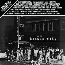 MAX'S KANSAS CITY 1976 & BEYOND 2LP vinyl Suicide Wayne County Dolls Fast Nico