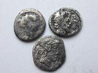 Roman Republic lot of 3 denarius