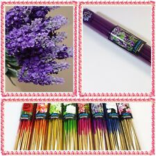 "50X8"" Lavender Incense Sticks Purple Aroma Spa Herb & Fragrance  Diffuser Gift"