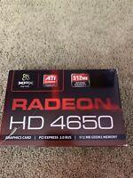 Radeon HD 4650 (Brand New In Box)