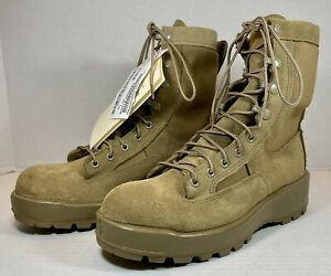 ALTAMA US Military ARMY Tan Brown Combat Boots Men's Size 8 R Temperate Weather