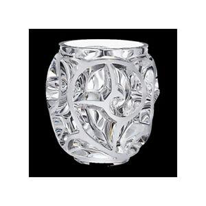 GENUINE LALIQUE Tourbillions Fern Blossom Floral Vase 10549900 FREE DELIVERY
