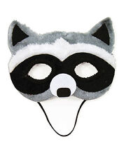 Child's Animal Critter Forest Raccoon Half Mask Costume Accessory