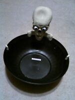 Gemmy Skeleton Halloween Animated Candy Bowl Large Motion & Sound