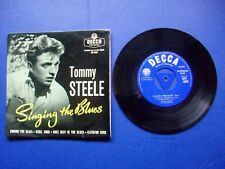 Tommy Steele And The Steelmen - Singing The Blues -1956 UK Vinyl EP Single EX/VG