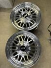 PAIR OF 2 ARE 205 American Racing Mesh 5x114.3 5120 NOS