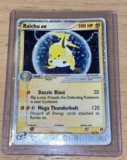 Raichu ex 98/100 Ultra Rare Holo - Sandstorm Pokemon Card Near Mint