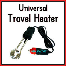 Universal Travel Water Boiler Heater for Car Van Caravan Motorhome Truck 12-24V