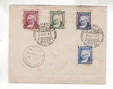 spain 1947 cover with four goya stamps      g2192
