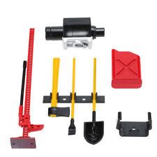 1/10 RC Crawler Tools Kit Winch Tank Jack Axe Shovel Spade Accessory Part #1