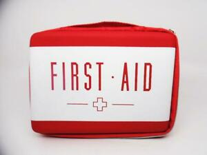 Band-Aid Brand Exclusive Build Your Own First Aid Kit Red Bag