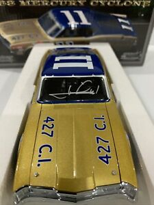 #11 Mario Andretti Mercury Cyclone University Racing Historical Autographed COA
