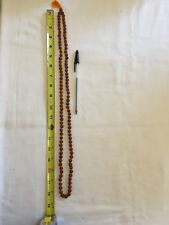 Rudhraksha and Crystal Mala - 108 Beads - Handmade,