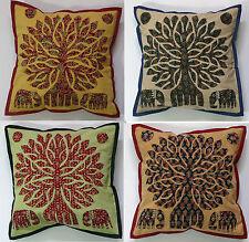 Patchwork Square Asian/Oriental Decorative Cushions