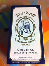 ZIG ZAG White Cigarette Rolling Paper 24 Booklets Box
