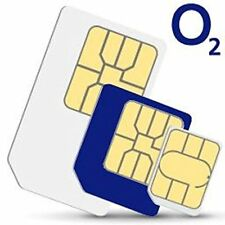 *OFFICIAL O2 NETWORK PAY AS YOU GO 02 SIM CARD SEALED UNLIMITED CALLS AND TEXTS