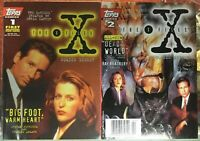 X-Files Comic Digest #1 & 2 Topps 1995 High Grade Bagged & Boarded