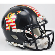 Navy Midshipmen Riddell Speed Mini Helmet - Don't Tread On Me