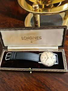 Gents Rare Classic Longines Watch Calibre 30l Case ref 8888 - 21