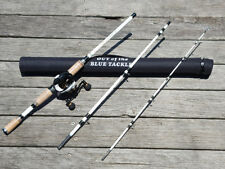 Black Mamba Bait Caster Reel and White Tiger Travel Combo