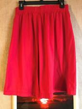 Under Armour men's red basketball shorts size M x ins. 9� polyester no pockets