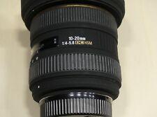 Sigma 10-20mm F 1: 4 - 5,6 EX DC HSM für Nikon TOP-Zustand