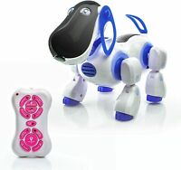 Remote Control Interactive Dog Puppy Learn and Play Robot Walking Talking