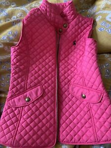 Joules Girls Body Warmer Age 7-8 Years
