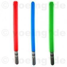 2 Stück Aufblasbare Lichtschwerter Bunt 85cm Laserschwerter Licht Laser-Schwert