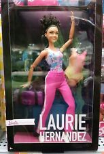 Laurie Hernandez Collector Barbie Doll New In Box