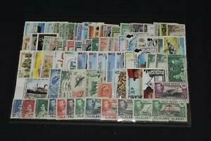 Falkland Islands Mint & Used  on Stockcard, 99p Start