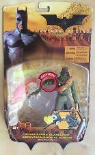 Batman Begins Skull Strike SCARECROW Action Figure 2005 DC Comics Mattel RARE