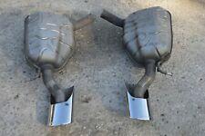 06-09 W219 Mercedes Cls500 Cls550 Sport Exhaust Mufflers Muffler Left & Right