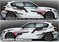BMW Rally 008 RACING Decalcomanie Adesivi Grafica in Vinile 1 2 3 4 5 6 SERIE