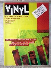 "THEATRE OF HATE / PUBER KRISTUS Poppies /  Gasstation 7"" Flexi & Vinyl Mag. 1982"