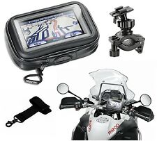 "PORTA NAVIGATORE CELLULARE IMPERMEABILE DA MOTO SM43 4,3"" INTERPHONE CELLULAR LI"