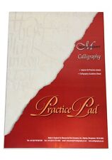 A4 MANUSCRIPT PRACTICE PAD CALLIGRAPHY WRITING PAPER 50 PAGE WITH LAYOUT GRID