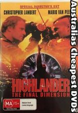 HIGHLANDER THE FINAL DIMENSION DVD NEW, FREE POSTAGE WITHIN AUSTRALIA REGION 4