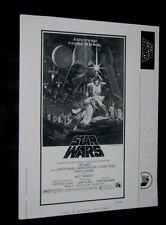 Original 1977 STAR WARS pressbook 19 pages L@@K