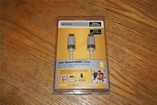 Belkin 6 FT High Speed HDMI Digital Audio Video Cable 24k Gold Plated Connector