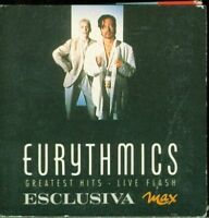 """Eurythmics - Greatest Hits & Live Flash Italy Press 3 Inch 3"""""""""""""""" Cd Eccellente"""