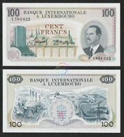 LUXEMBOURG 200 Francs 1968 P-14 UNC Uncirculated