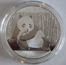 2015 Plata Chino / China Panda 1 oz.999 Plata Moneda De Oro-China 10 Yuan